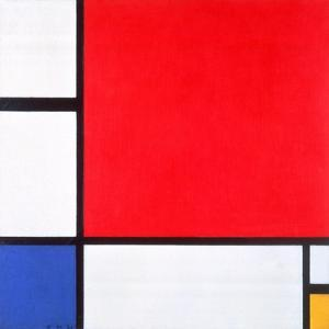 Composition with Red, Yellow and Blue, 1930 by Piet Mondrian