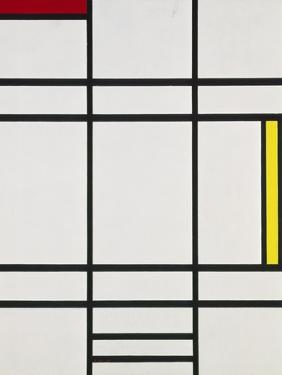 Composition with White, Red and Yellow, 1938-42 by Piet Mondrian