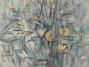 Composition X. 1911 by Piet Mondrian