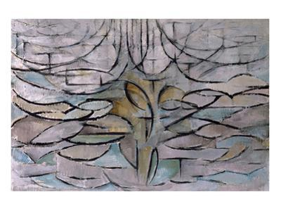 Flowering Apple Tree by Piet Mondrian