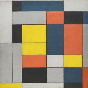 No. VI / Composition No.II by Piet Mondrian