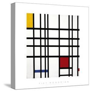 Opposition of Lines: Red and Yellow by Piet Mondrian