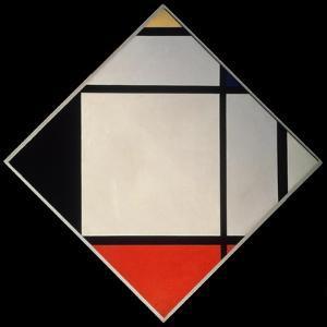 Rhombus II by Piet Mondrian