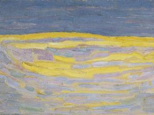 Sunrise by Piet Mondrian