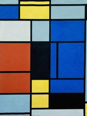 Tableau No, 1, 1921-25 by Piet Mondrian