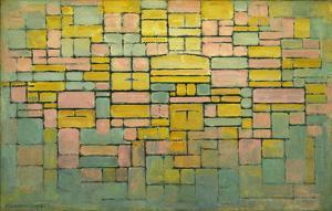 Tableau no. 2: Composition no. V, 1914 by Piet Mondrian