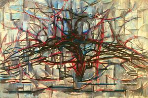 the Gray Tree 1912 by Piet Mondrian