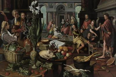 Christ in the House of Martha and Mary, 1553 by Pieter Aertsen