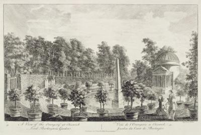 A View of the Orangery, Lord Burlington's Garden at Chiswick