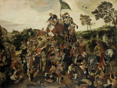 The St Martin's Day Kermis, c.1540-98 by Pieter Balten