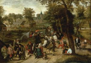The Return from the Kermesse by Pieter Breugel the Elder