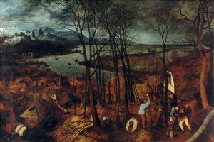 Beginning of Spring - Complete by Pieter Breughel the Elder