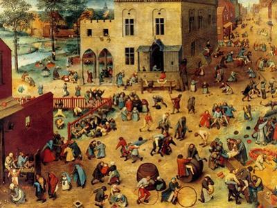 Children's Games Complete by Pieter Breughel the Elder