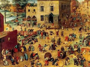 Children's Games Complete by Pieter Breughel the Elder