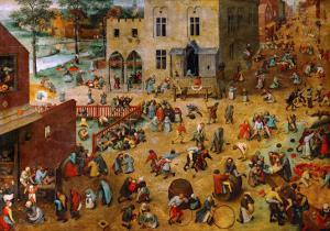 Children's Games, 1560 by Pieter Bruegel the Elder