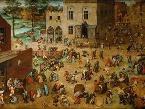 Children?S Games, 1560 by Pieter Bruegel the Elder
