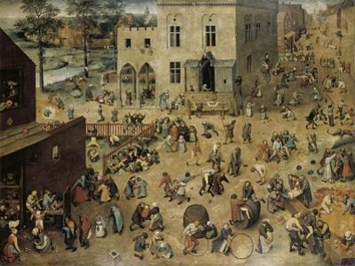 Children's Games, c.1560 by Pieter Bruegel the Elder