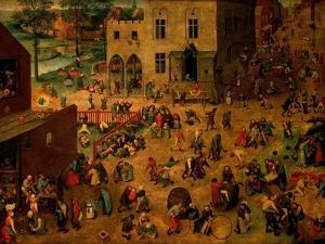 Children's Games (Kinderspiele), 1560 by Pieter Bruegel the Elder