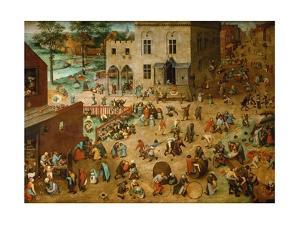 Children's Games by Pieter Bruegel the Elder
