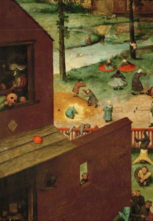 Childrens Games (1560) by Pieter Bruegel the Elder