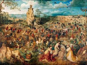 Christ Carrying the Cross, 1564 by Pieter Bruegel the Elder