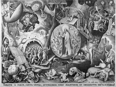Christ in Hell, C.1561 by Pieter Bruegel the Elder