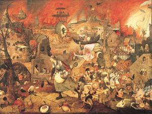 Dulle Griet (Mad Meg) 1564 by Pieter Bruegel the Elder