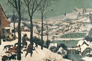 Hunters in the Snow, February, 1565 by Pieter Bruegel the Elder
