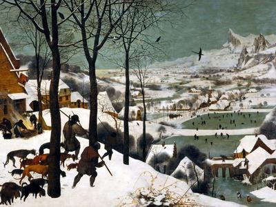 Hunters in the Snow (Winte), 1565