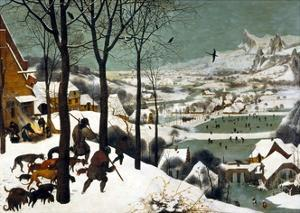 Hunters in the Snow (Winter) by Pieter Bruegel the Elder