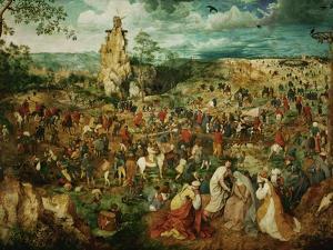Jesus Carrying the Cross, or the Way to Calvary, 1564 by Pieter Bruegel the Elder