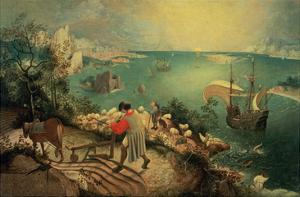 Landscape with the Fall of Icarus, about 1558 by Pieter Bruegel the Elder