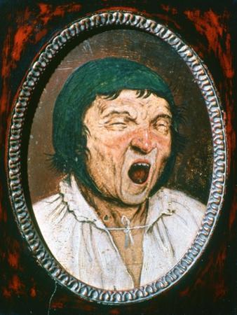'Man Yawning', c1545-1569. Artist: Pieter Bruegel the Elder by Pieter Bruegel the Elder