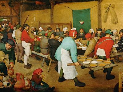 Peasant Wedding (Bauernhochzeit), 1568