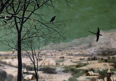 Return of the Hunters by Pieter Bruegel the Elder