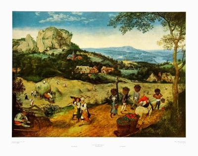 Sprin, Haymakers by Pieter Bruegel the Elder