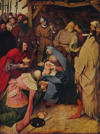 The Adoration of the Kings, 1564, (1937) by Pieter Bruegel the Elder