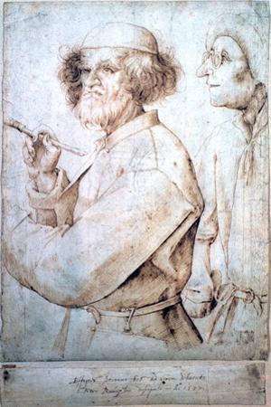 The Amateur Painter, C1562 by Pieter Bruegel the Elder