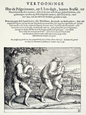 The Bagpipers, C.1642 by Pieter Bruegel the Elder