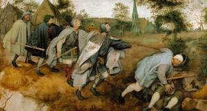 The Blind Leading the Blind, 1568 by Pieter Bruegel the Elder