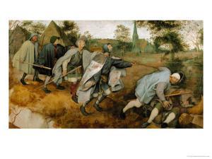 The Blind Leading the Blind, 1568 by Pieter Bruegel the Elder