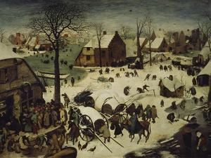 The Census at Bethlehem, 1566 by Pieter Bruegel the Elder
