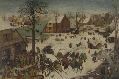 The Census at Bethlehem (The Numbering at Bethlehe), 1566 by Pieter Bruegel the Elder