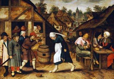 The Egg Dance by Pieter Bruegel the Elder