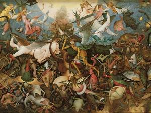 The Fall of the Rebel Angels, 1562 by Pieter Bruegel the Elder