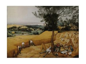 The Harvesters, 1565 by Pieter Bruegel the Elder