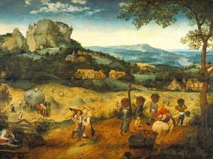 The Hay Harvest by Pieter Bruegel the Elder
