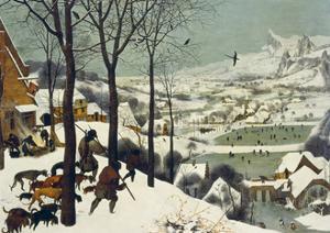 The Return of the Hunters by Pieter Bruegel the Elder