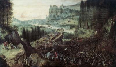 The Suicide of Saul by Pieter Bruegel the Elder