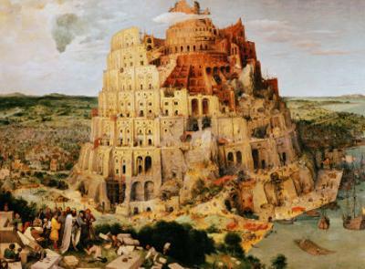 The Tower of Babel, 1563 by Pieter Bruegel the Elder